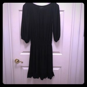 LBD gathered waist, can be on or off shoulder sz M